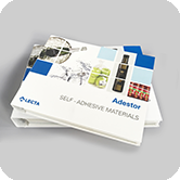 new Adestor catalogue of self-adhesive labels